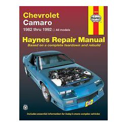 REPAIR MANUAL CHEVROLET CAMARO 82-92