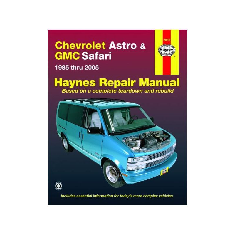 REPAIR MANUAL CHEVROLET ASTRO GMC SAFARI 85-05