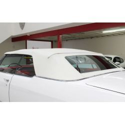 CONVERTIBLE TOP GLASS WINDOW & PADS CADILLAC DEVILLE ELDORADO BUICK ELECTRA OLDSMOBILE 98 65-70