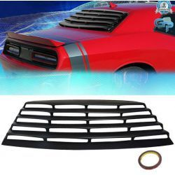 REAR WINDOW LOUVER COVER SUN SHADE VENT DODGE CHALLENGER 08-19
